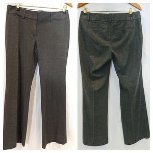 Ann Taylor LOFT 8P Dark Gray Marisa Trouser Pant